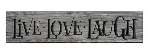 Live Love Laugh | Wood Sign