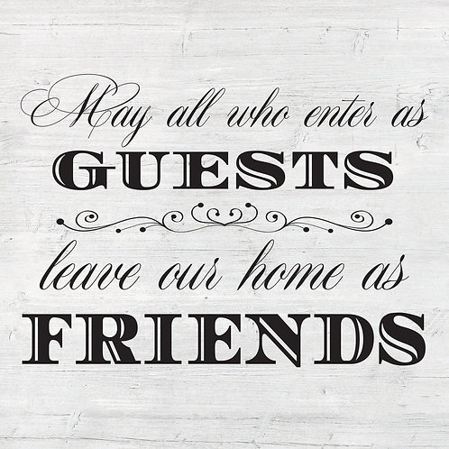 Enter as Guests