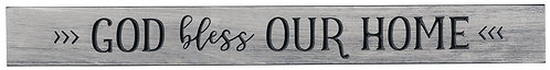 God Bless Our Home | Wood Sign