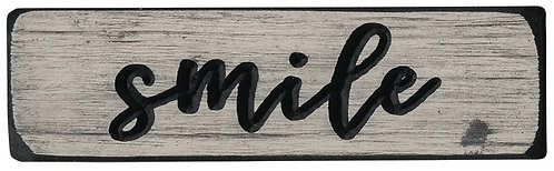 Smile  | Wood Sign