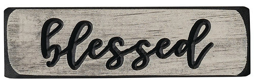 Blessed  | Wood Sign