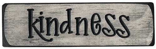 Kindness  | Wood Sign