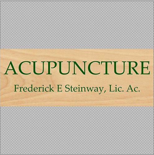 "Acupuncture -  Frederick 16"" x 6"" Tall"