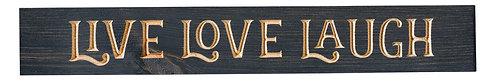 Live Love Laugh   Wood Sign
