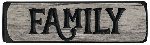Family  | Wood Sign
