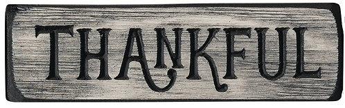 Thankful  | Wood Sign