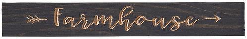Farmhouse | Wood Sign