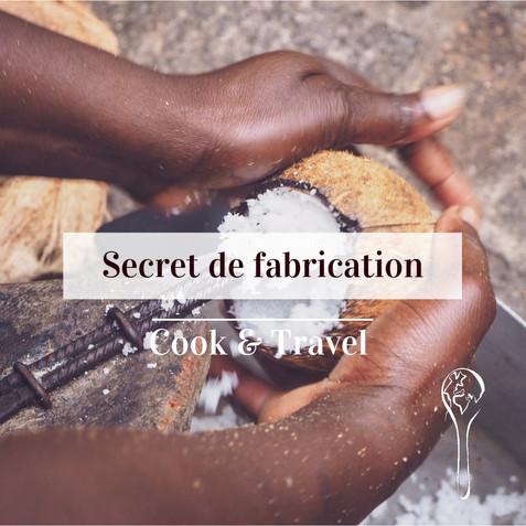 Secret de fabrication: Le lait de coco