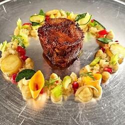 #revisite #couscous #agneau #lamb #legumes #fraicheur #french #gastronomy #gastronomie #France #Tuni