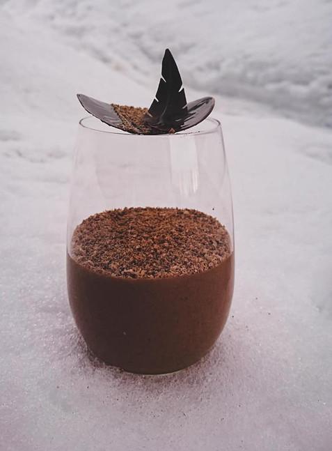 Mousse fondante au chocolat au lait