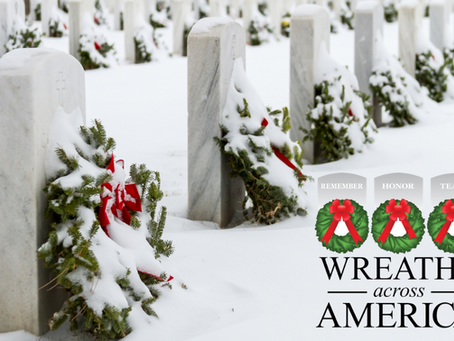 Wreaths Across America - Pray for the Fallen (Isaiah 6:8)