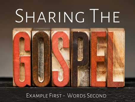 Sharing the Gospel with People Suffering Because of COVID-19: Example First—Words Second