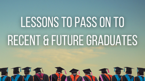 Lessons to Pass On to Recent and Future Graduates (James 4:10)