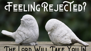 Feeling Rejected? The Lord Will Take You In (Psalm 27:10)