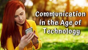 Communicating in the Age of Technology (James 1:19-22)