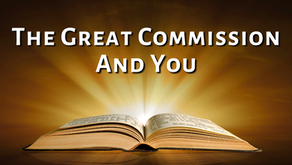 The Great Commission and You (Matthew 28:19)