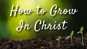 How You Can Grow in Christ (2 Peter 3:18)