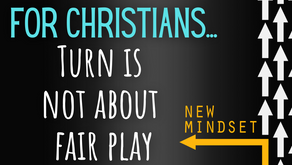 For Christians—Turn About Is Not Fair Play (Matthew 5:39)