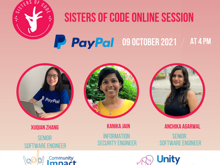 Sisters of Code Online Session - Episode 8
