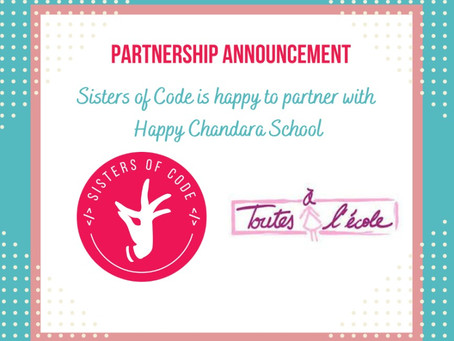 Sisters of Code in Partnership with Happy Chandara School