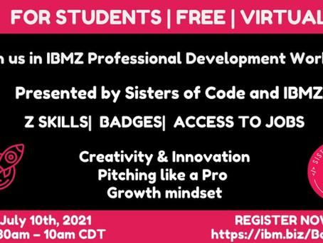 Free Virtual Professional Development Workshop