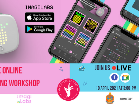 Coding is fun! Join a Free Online Coding Workshop