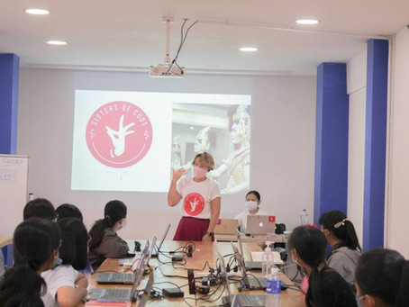 Sisters of Code encourage more girls to study Information Technology