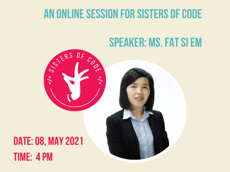 Sisters of Code - Online Session #4