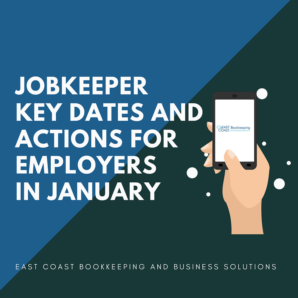 Help with jobkeeper for small businesses. Professional bookkeeping service in the Shoalhaven