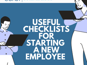 Tips and Checklists for New Employees