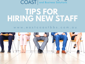 East Coast BBS tips for hiring staff