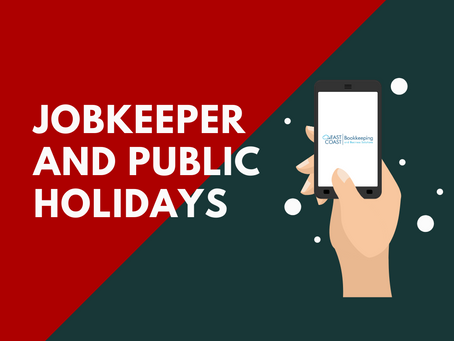 JobKeeper and Public Holidays