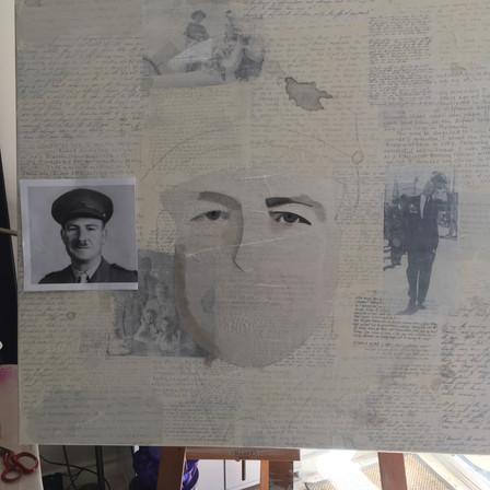 Portraits in progress.....