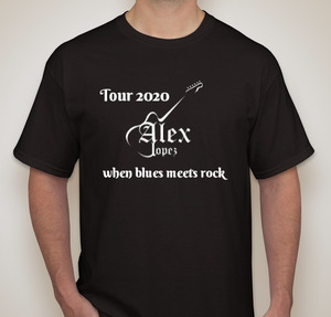 Alex Lopez 2020 Tour T-shirt