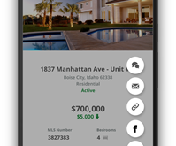 Share Listings to Twitter and Facebook Using Your Mobile or Tablet
