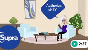 How to Authorize the Supra eKEY® App