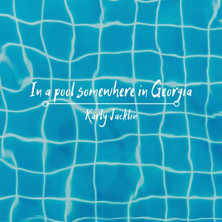 In a pool somewhere in Georgia, Karly Jacklin