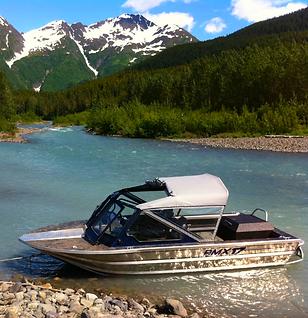 In Alaska.