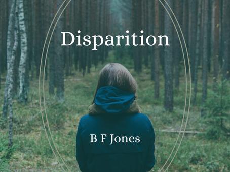 Disparition, B F Jones