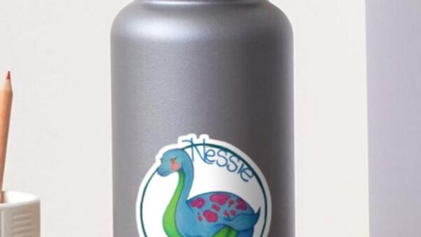 """Loch Ness Monster """"Nessie"""" Sticker"""