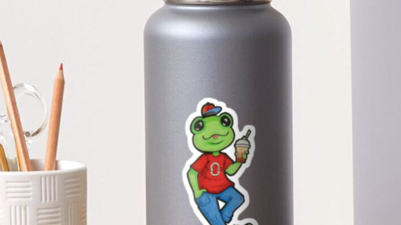 Loveland Frogman Sticker