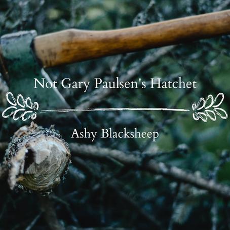 Not Gary Paulsen's Hatchet, Ashy Blacksheep