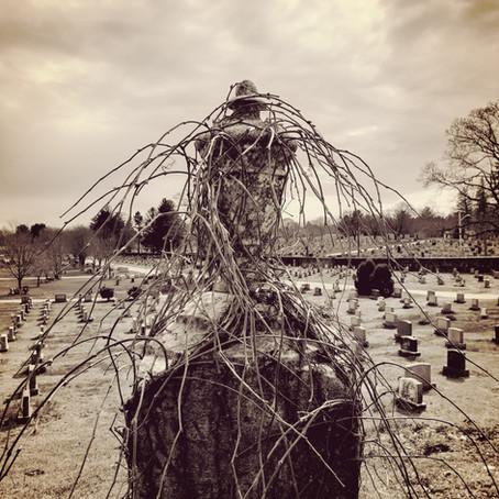 Hope Cemetery Photograph, Sky Boivin