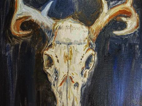 Deer Skull, Gordon Lewis