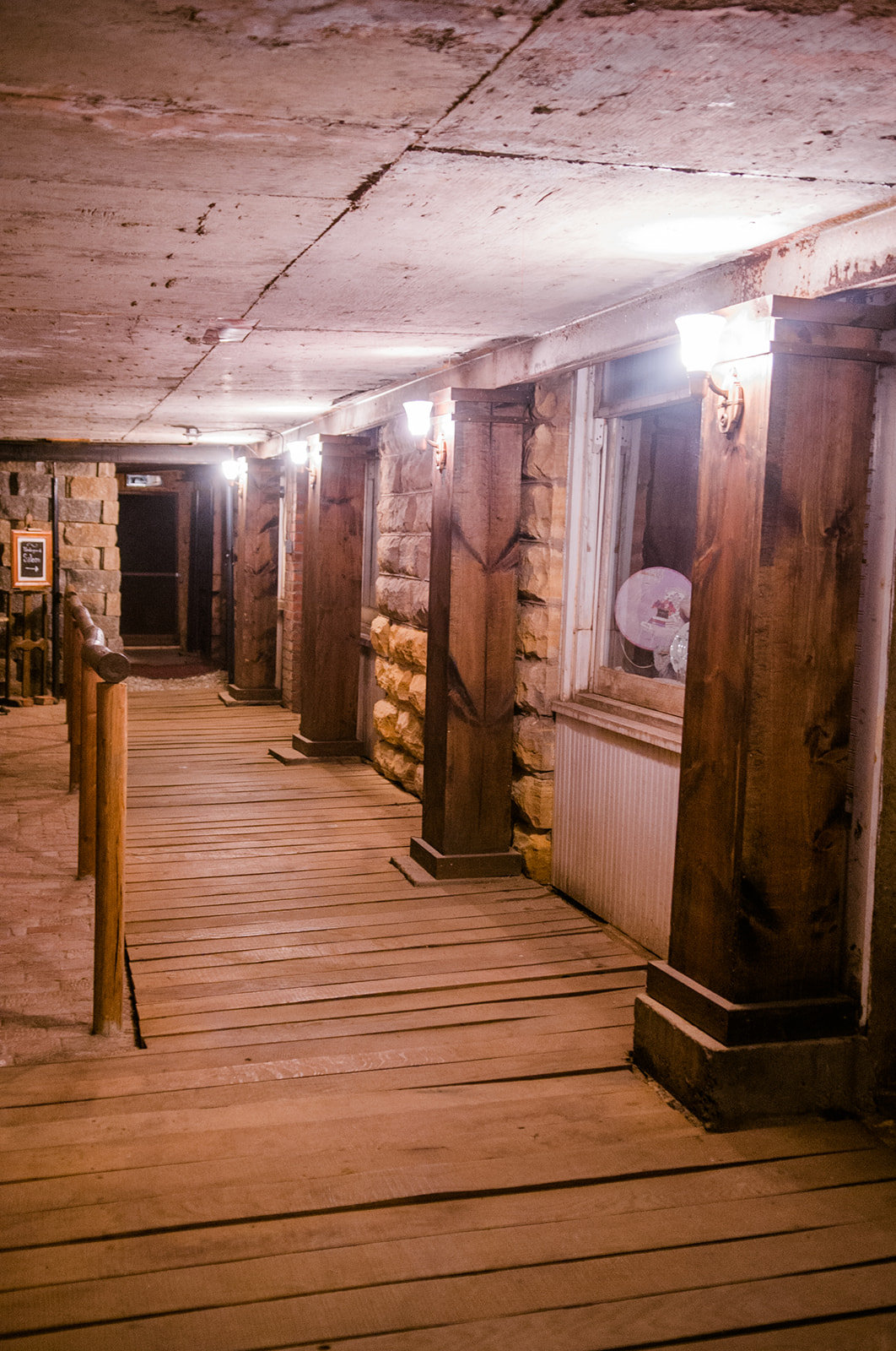 Tunnel Tour BY RESERVATION ONLY