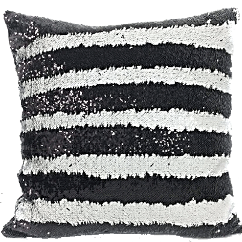 ETHEREAL EBONY: SPARKLICIOUS PILLOW