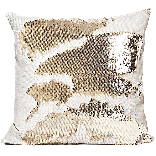 CHAMPAGNE GODDESS : SPARKLICIOUS PILLOW