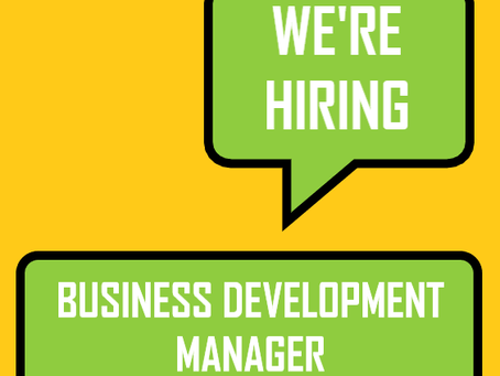 We're recruiting for a Business Development Manager!