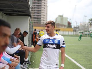 Vice-artilheiro da Copa Santa Catarina, Eduardo Tanque agradece o elenco