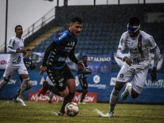 Tubarão vence o São Caetano na Vila